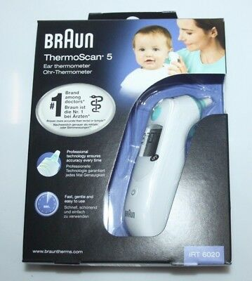 Braun ThermoScan 5  IRT6020 Ohr Thermometer