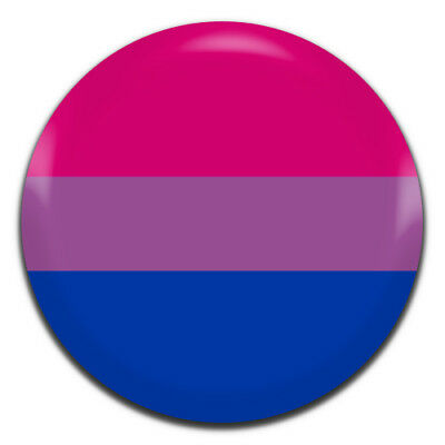 LGBT Bisexual Pride Flag 25mm / 1 Inch D Pin Button Badge