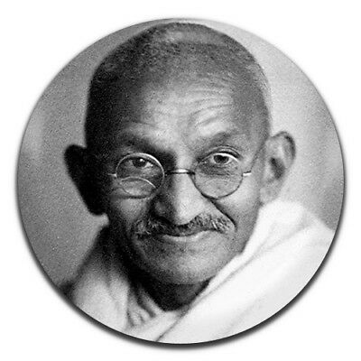Mahatma Gandhi 25mm / 1 Inch D Pin Button Badge