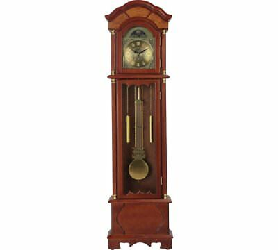 Unique Lot Walnut Floor Standing Pendulum Grandfather Clock Westminster Chimming