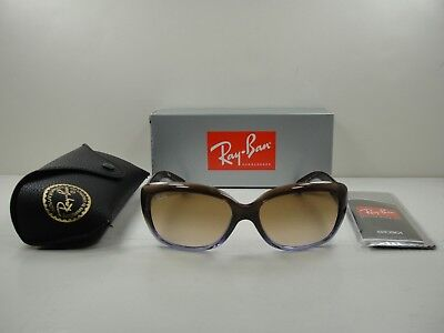 Ray-Ban Jackie Ohh Sunglasses Rb4101 860 51 Brown Frame brown Gradient Lens 92129a43268a