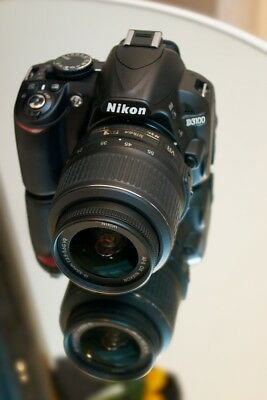 MINT Nikon D3100 14.2 MP Digital SLR Camera With 18-55mm VR Lens (2 LENSES)