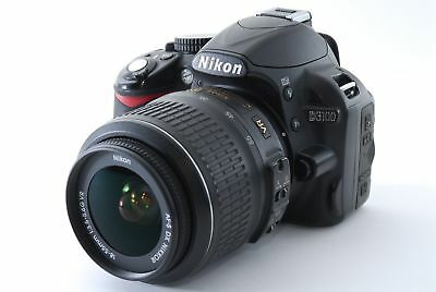 EXCELLENT Nikon D3100 Digital SLR Camera With 18-55mm NIKKOR VR Lens (3 LENSES)