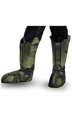 Licensed Halo Master Chief Adult Mens Boot Covers Costume Accessory