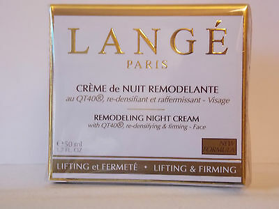 LANGE Remodeling Night Cream with QT40, re-densifying & firming 50ml RRP