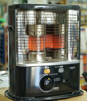 Kero Heater Corona SX-B2412Y Midnight Blue Made in Japan Efficient Kerosene NEW