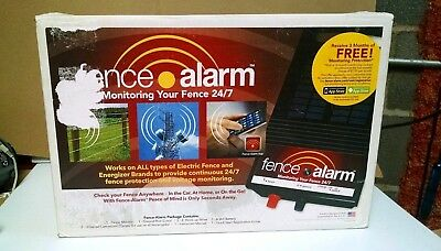 ELECTRIC FENCE ALARM / Alerts your Phone to a Breach of your Electric Fence/ NIB