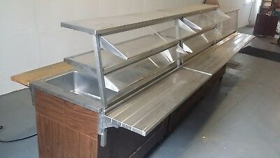 3 cart Vollrath with 3 Well Mobile Hot Food Steam Table catering serving