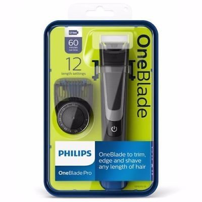 Philips QP6510/25 OneBlade Pro Styler and Shaver in Black - New in Box