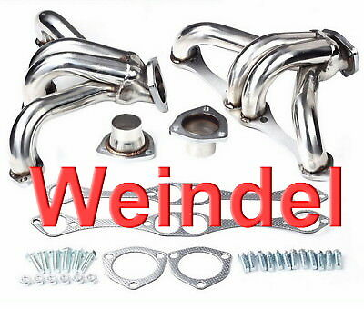 Chevrolet Small Block V8 Fächerkrümmer Shorty Headers  283 327 350 383 camaro