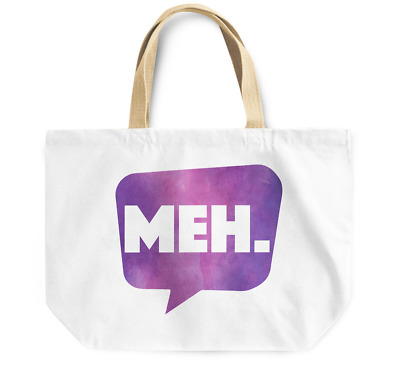 Tote Bag MEH Durable sturdy Grocery Shopping Bag Everyday Use