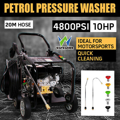 WACWAGNER Jet Machine 10HP 4800PSI High Pressure Water Washer Cleaner Gurney 20M