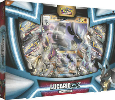 Pokemon Lucario GX Box deutsch OVP!