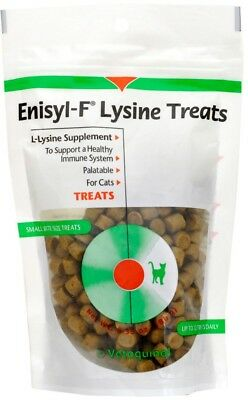 Enisyl-F Lysine Chews / Treats for Cats 6.35 oz (180 gm) Supports Healthy Immune