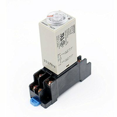 Baomain Ac 110V H3Y-2 Time Delay Relay Timer 0-10Min Dpdt With Socket *New*