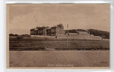 ROYAL ACADEMY, IRVINE: Ayrshire postcard (C32678)