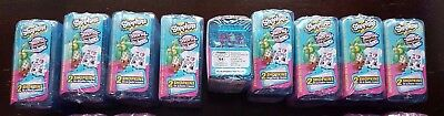 5 x Shopkins World Vacation - Season 8 - Blue 2 Packs - New in Packaging