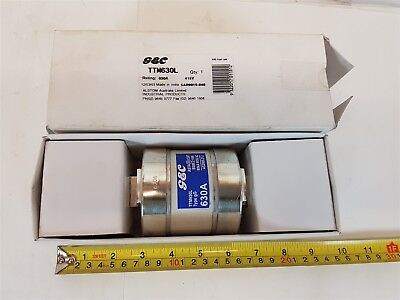 G&C TTM630L Fuse Link Type gG 630A 80kA Center-tag - New