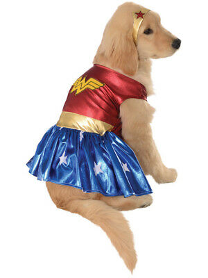 Wonder Woman Superhero Hero DC Comics Dog Pet Costumes