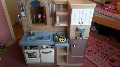 Childrens Toy Kitchen/bbq Two In One Little Tikes