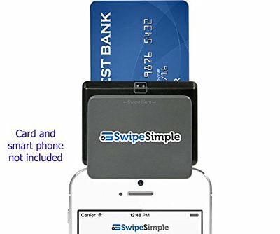 Swipesimple CardFlight Mobile EMV-Ready Chip Card Reader Payment Depot New