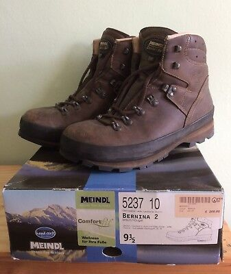 914440c1f8e MEINDL BERNINA 2 Leather Walking Boots - Size 9.5, Comfort Fit - Hardly  Used!