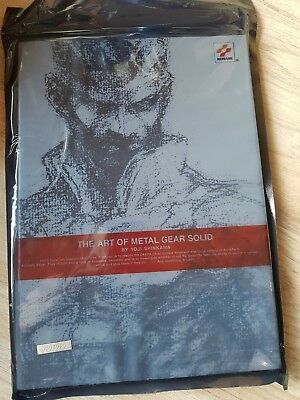 The Art of Metal Gear Solid by Yoji Shinkawa, Artbook , Konami, Neu