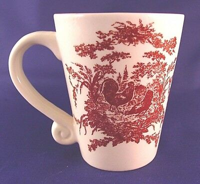 CALIFORNIA PANTRY 2002 Classic Ceramics Rooster And Hen Coffee Mug ...