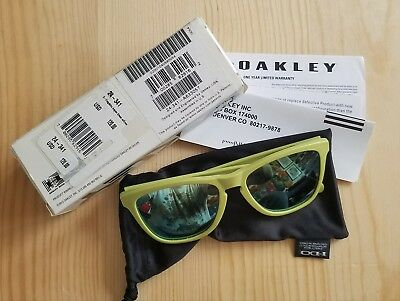 98016bcfab05 low cost oakley frogskins acid green sunglasses japan 9558c 2a922