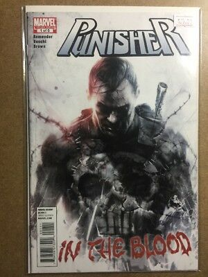 PUNISHER In The Blood #1 Francesco Mattina COVER MARVEL COMICS