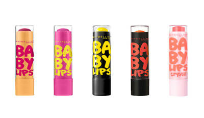 New Maybelline Baby Lips Moisturizing Lip Balm with Shea Butter & Vitamin E