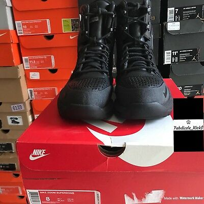 ae2b49f4c59b5 Nike Zoom Superdome Boots All Conditions Gear Black Mens Size 8 654886-040
