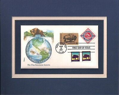 PAN-AMERICAN EXPOSITION - 100th ANNIV - BUFFALO NY - FRAMEABLE STAMP ART - 0658