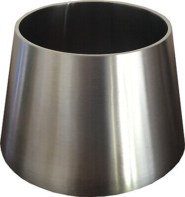 """Exhaust Cone Reducer 4"""" to 3"""" Stainless Steel"""