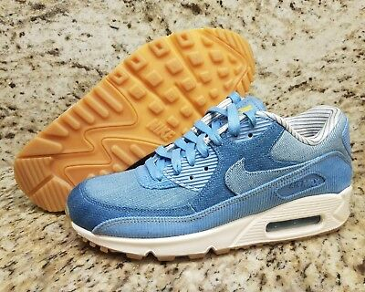 NIKE WMNS AIR Max 90 SE December Sky Denim & Corduroy SZ 7