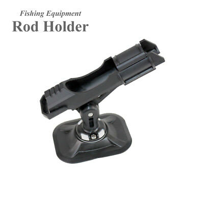 fishing rod holder device pole pvc inflatable boat accessory kayak clamp