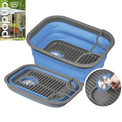 Companion Popup Dish Tray & Tub Blue COMP771B
