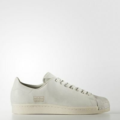NIB ADIDAS ORIGINALS SUPERSTAR 80s CLEAN SHOES #BB0169  (DEADSTOCK)