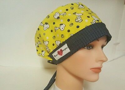 Snoopy   / Hat Pixie / Scrub Surgical / Medical Chemo / Cap