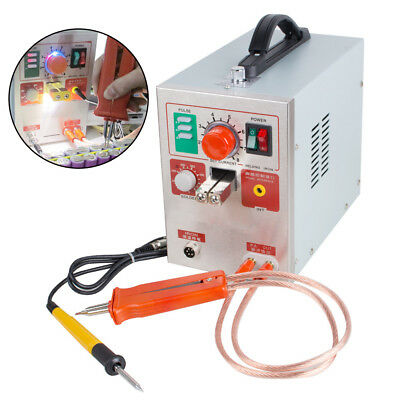 【USA】709A Pulse Spot Welder Welding Soldering Machine for Battery Packs 1.9kw
