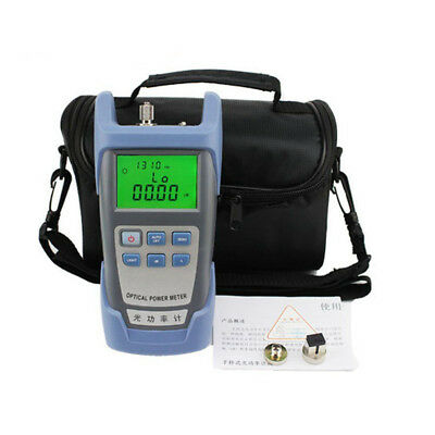 RisTech Digital Fiber Optic FTTH Tool Kits Optical Power Meter Tester FC SC Bag