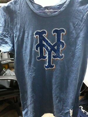 NY Mets Tshirt Masjestic   ORIGINAL NEW with TAGS MADE IN USA  LARGE