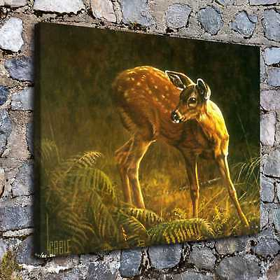 A6462-fawn Home Decor Room HD Canvas Print Wall Art Picture