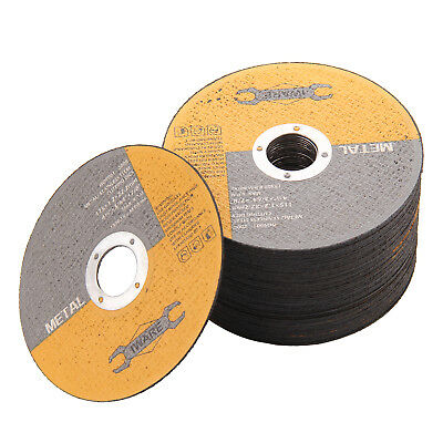 "Metal Cutting Discs Flat Angle Grinder 10/20/30 115MM 4.5""Steel Grinding UK"
