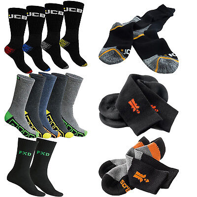 SCRUFFS, JCB and FXD Sock Collection - Men's Reinforced Workwear Safety Boots