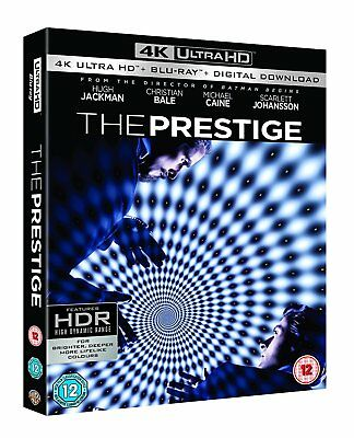 The Prestige 4K Ultra HD UHD Blu-ray Christopher Nolan Boxset New Region A,B,C!