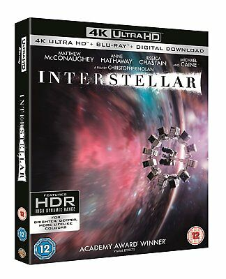 Interstellar 4K Ultra HD UHD Blu-ray Christopher Nolan Boxset New All Regions
