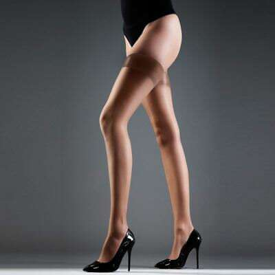 Lady Women Sheer Garter Stay Up Thigh High Hold-ups Stockings Pantyhose