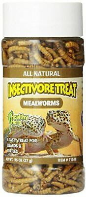 San Francisco Bay Brand Healthy Herp Insectivore Treat - Mealworms .95 Oz