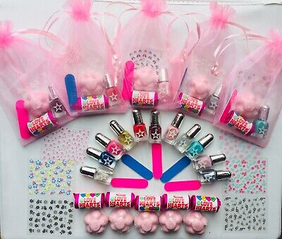 Girls Unicorn Pamper Birthday Party Pre-filled Gift Bags Slumber Sleepover Nails